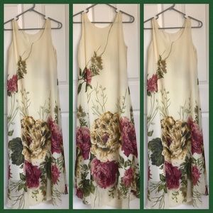 Dresses & Skirts - 💥Long Floral Dress Size M see Pics